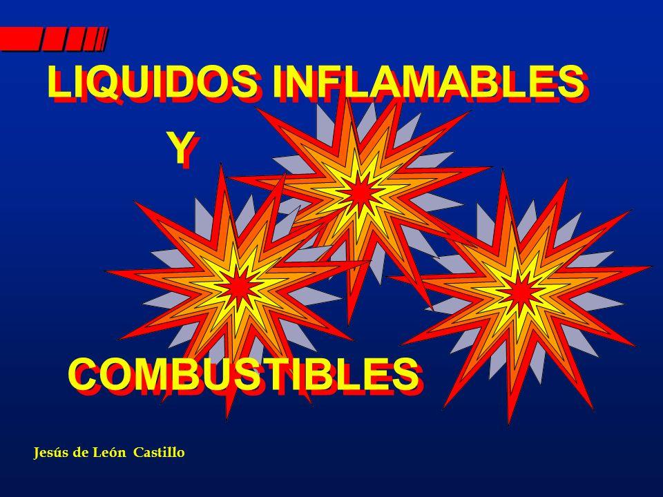 RIESGOS DE LOS LÍQUIDOS INFLAMABLES Y COMBUSTIBLES Y COMBUSTIBLES FUEGOS ABIERTOS A) FUEGOS ABIERTOS: EJ: ESTANQUES DE COMBUSTIBLES, DERRAMES EN PISO, ETC.