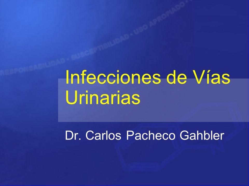 Infecciones de Vías Urinarias Dr. Carlos Pacheco Gahbler
