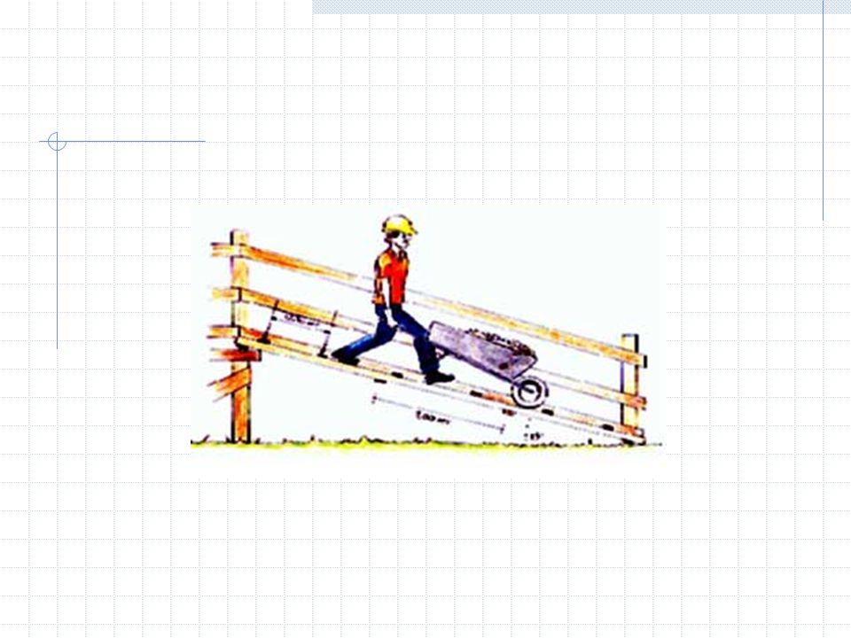 Pasamanos Las escaleras cuyo ancho sea de 2,25 o más tendrán una baranda intermedia deben ser lisos, sin nudos grandes o sueltos, sin clavos ni pernos sobresalientes, sin astillas o rajaduras Las esquinas agudas se redondearán y alisarán