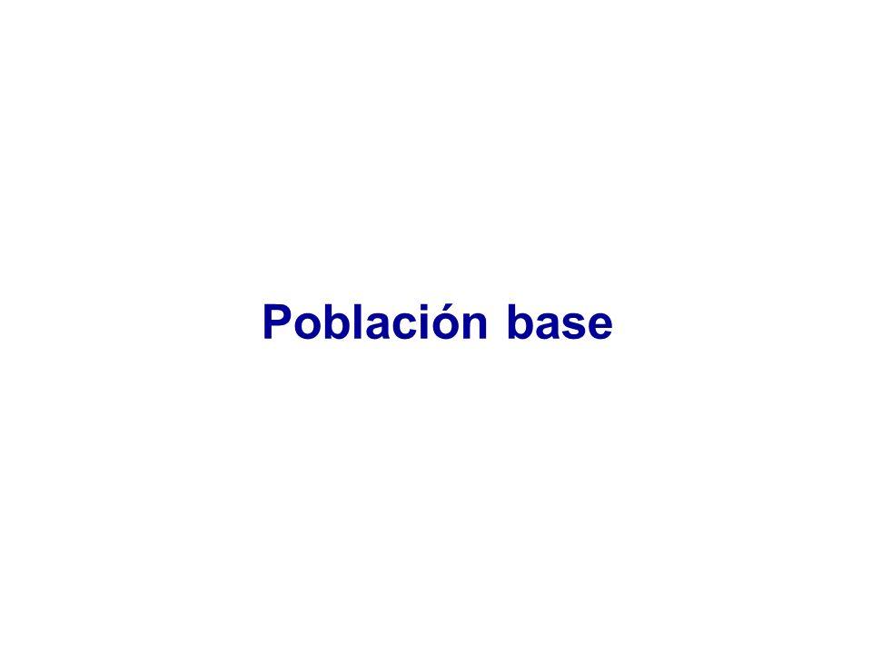 Población base
