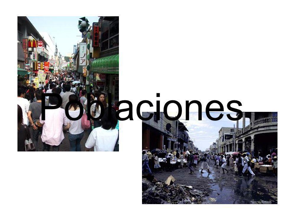 Poblaciones