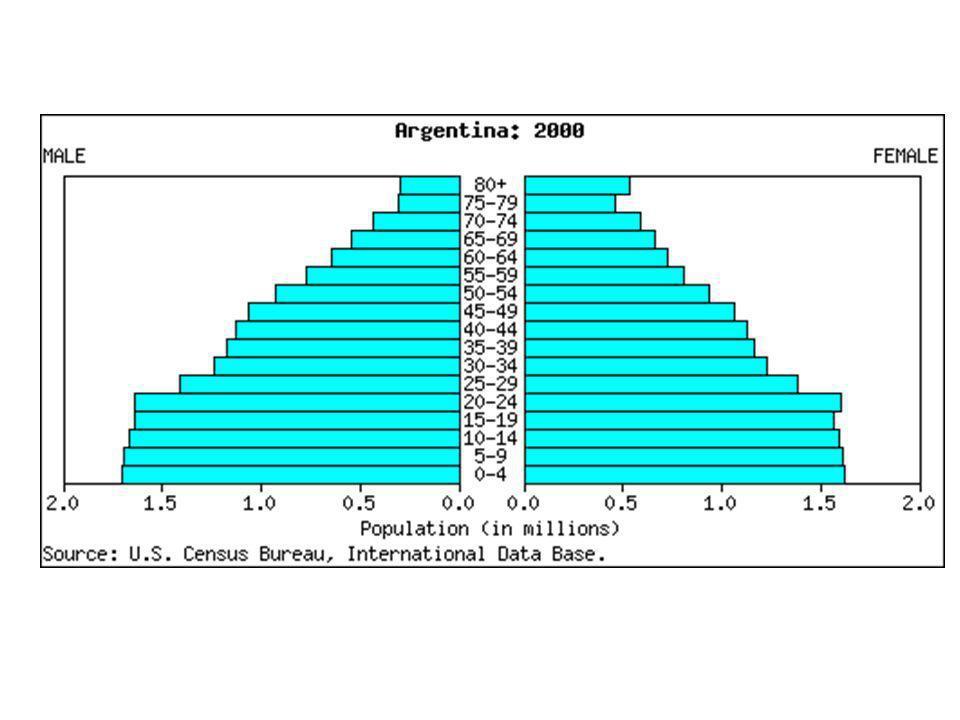 ¿Qué tenemos que mirar en una pirámide de población.