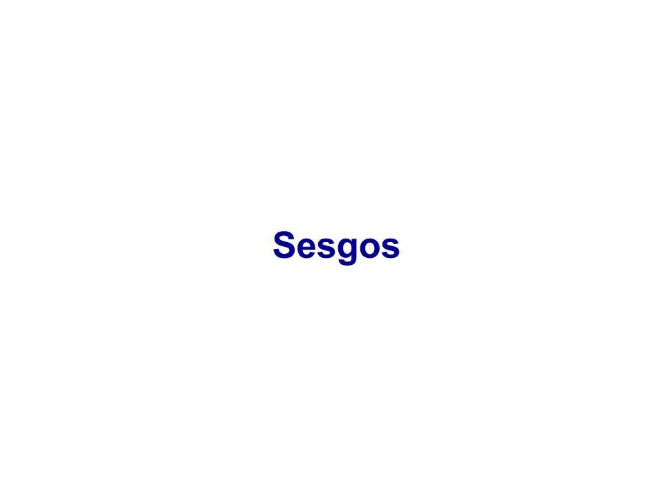 Sesgos