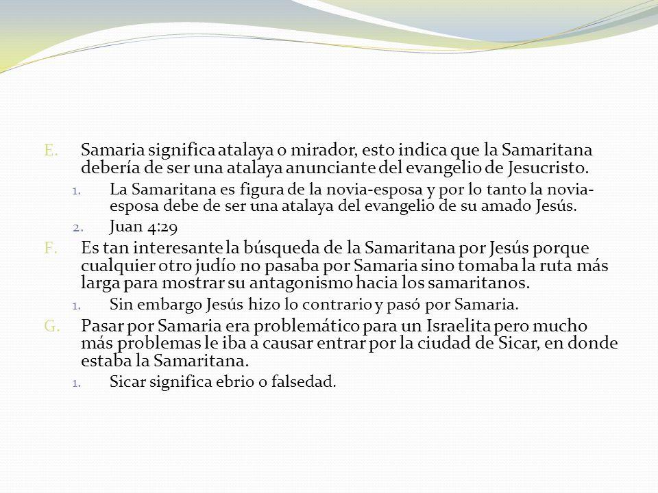 Sexto Marido A.Juan 4:20 B.