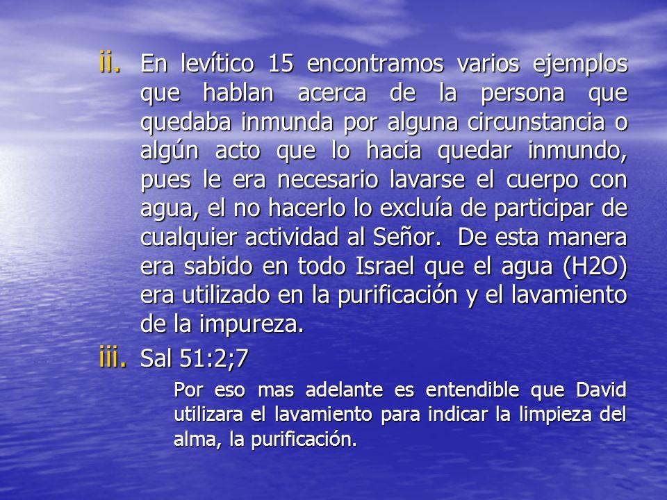 II.DESARROLLO Mar 16:16 El que crea y sea bautizado será salvo; pero el que no crea será condenado. A. Marco histórico: a.La palabra bautismo no fue a
