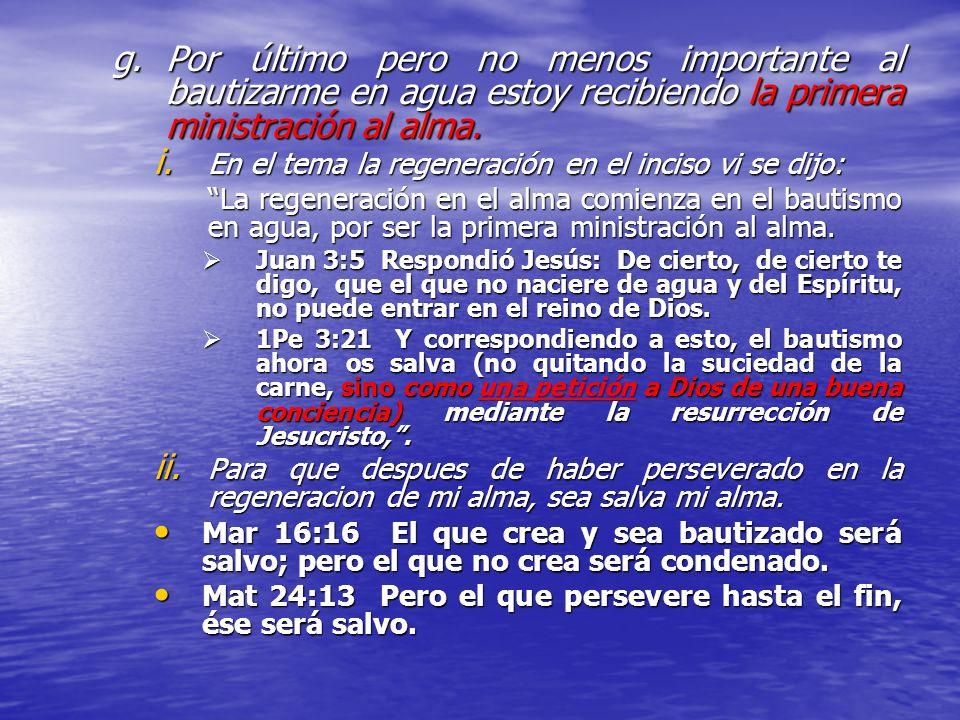 e.Para solicitar a Dios que nos de una buena consciencia. 1Pe 3:20 quienes en otro tiempo fueron desobedientes cuando la paciencia de Dios esperaba en