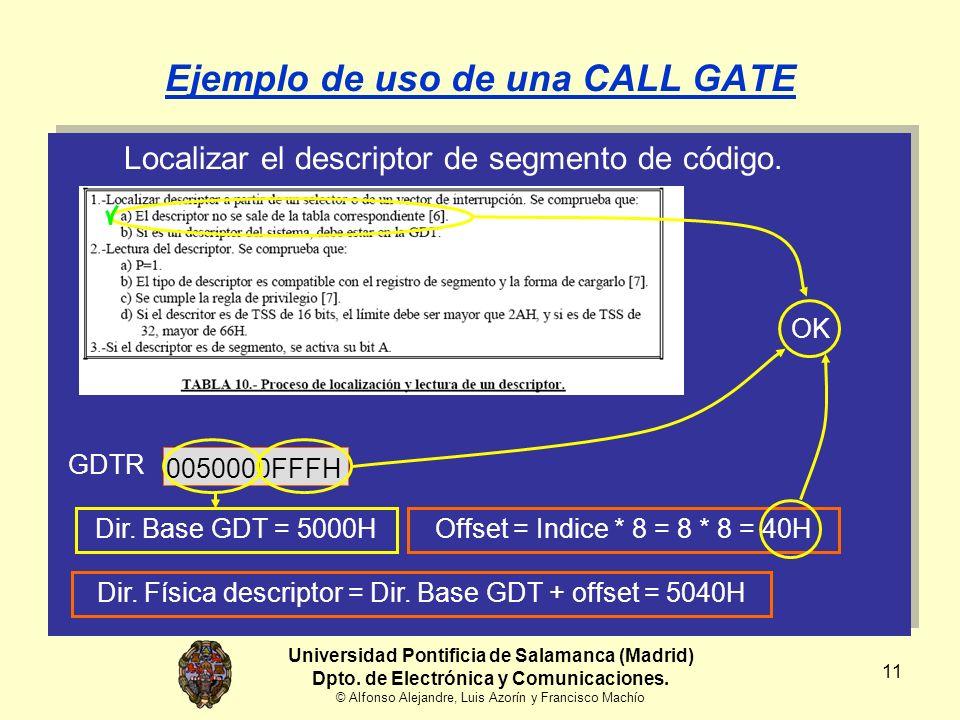 11 Localizar el descriptor de segmento de código.