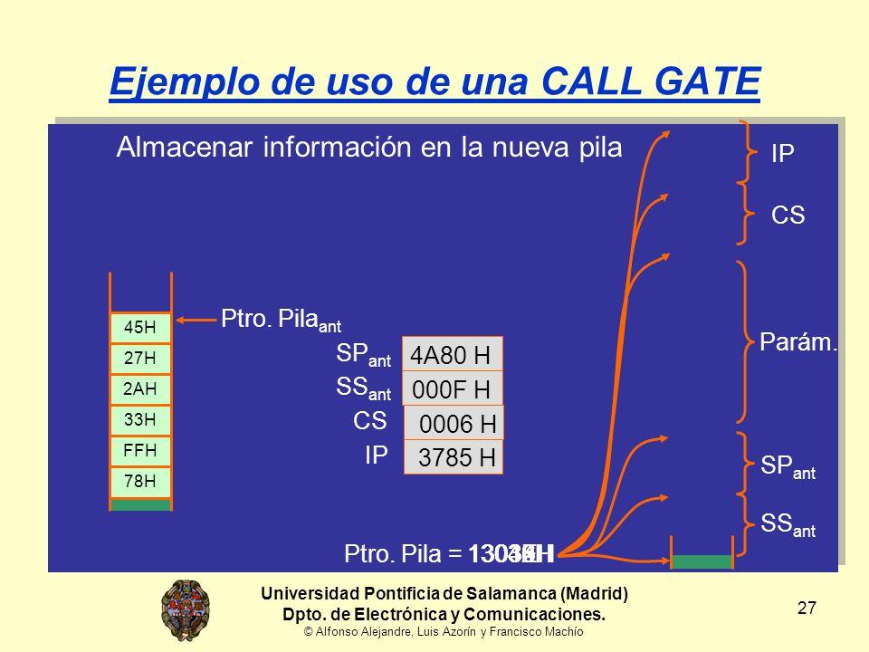 27 Almacenar información en la nueva pila Ptro.
