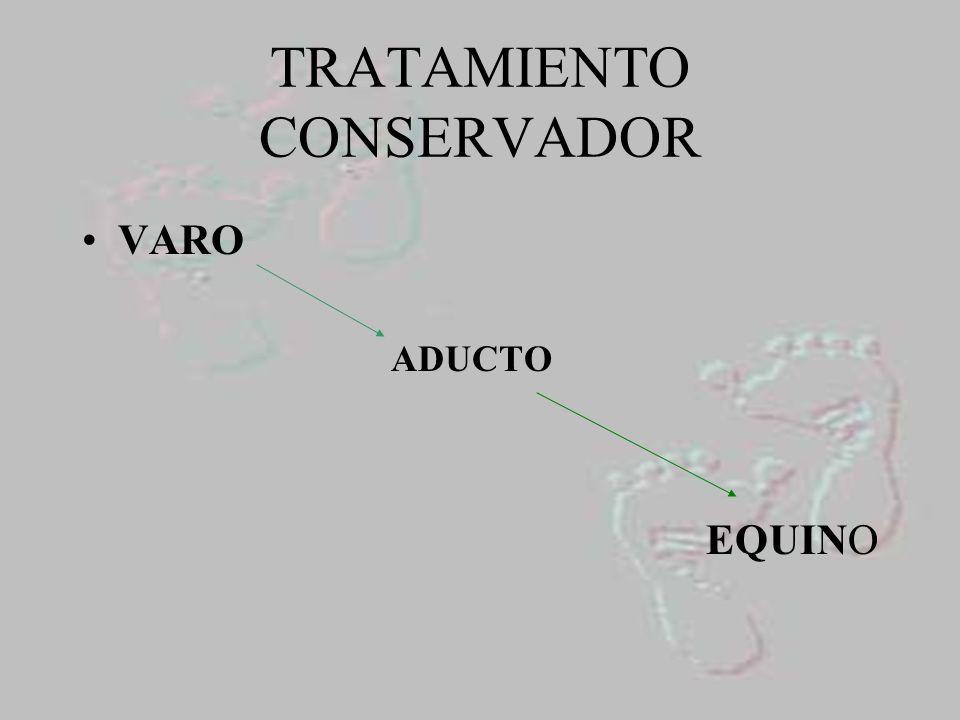 TRATAMIENTO CONSERVADOR VARO ADUCTO EQUINO
