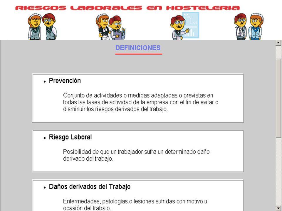 En Riesgos Laborales tenemos desglosados todos los puestos de trabajo del sector hostelería, por actividades y areas funcionales.