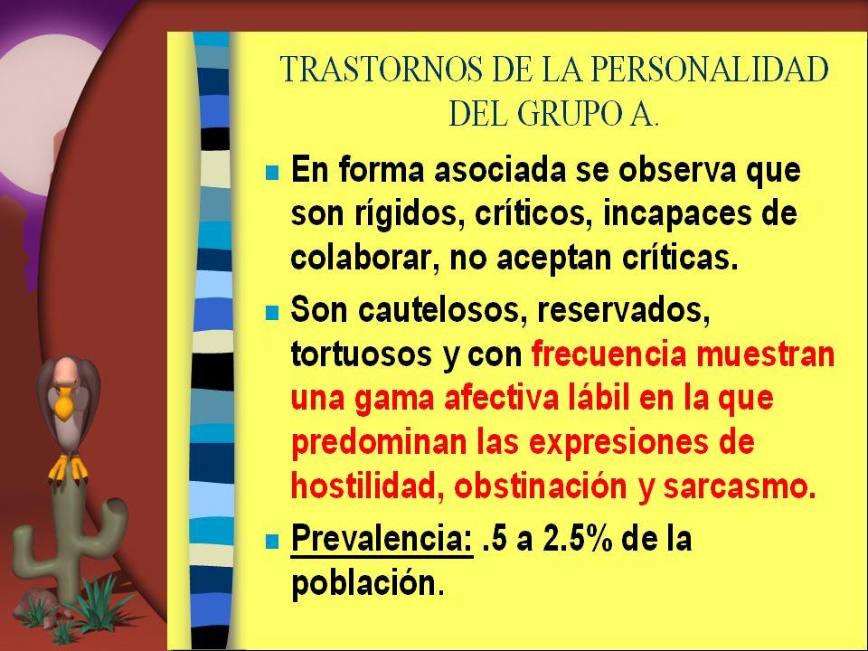 Trastorno de la Personalidad Grupo C 3.