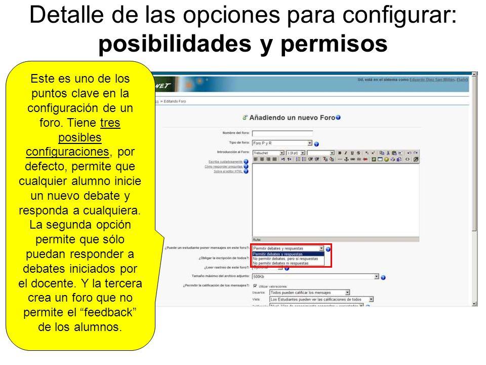 Detalle de las opciones para configurar: inscripción/suscripción ¿Qué es la suscripción.