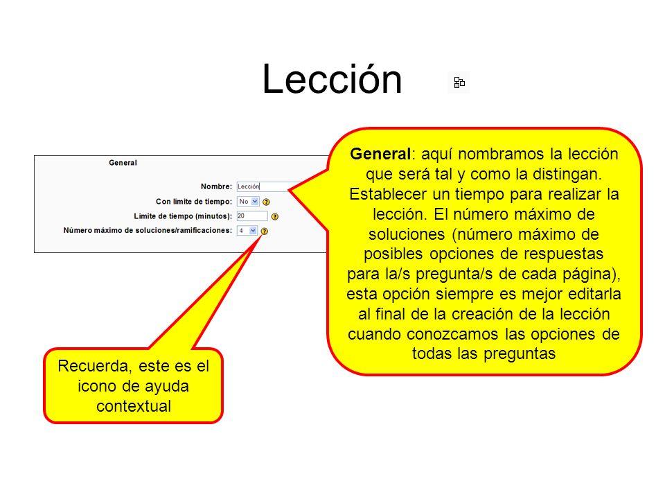 Lección: añadir una ramificación Puede ser interesante comenzar una lección con una página tipo tabla de ramificaciones de tal modo que aclare la estructura de la lección Y también, partiendo de una página interior, en este caso eeeeeeeeeeee, a lo largo de la lección, crear subramas, que, en consecuencia, establezcan subsecciones de una sección del contenido