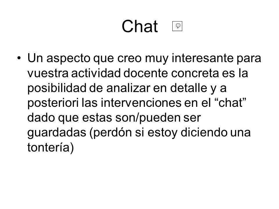 Chat: crear Aunque ya es un clásico repetiremos una vez más que para poder actuar en Moodle como profesores debemos activar el botón activar edición-turn editing on Nos interesa el menú desplegable de agregar actividad pues es el modo de añadir el chat