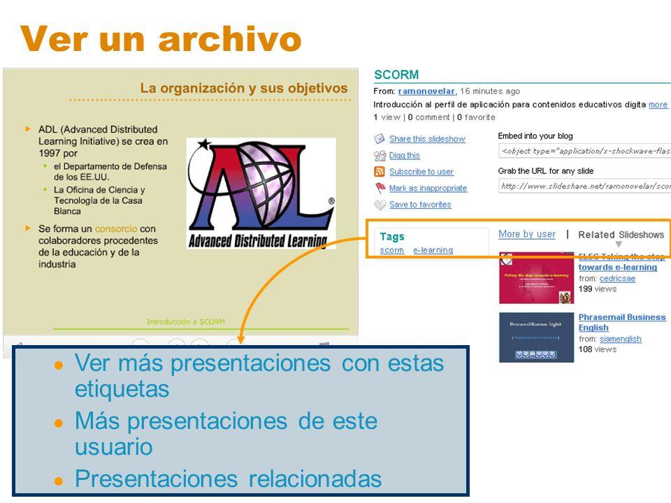 Ver un archivo Ver más presentaciones con estas etiquetas Más presentaciones de este usuario Presentaciones relacionadas