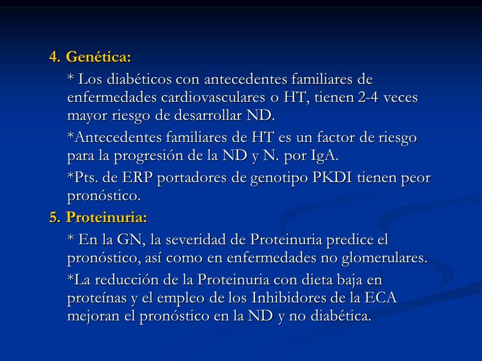 Ácido úrico: En fase inicial de IRC: En fase inicial de IRC: en la secreción del Ácido úrico en el túbulo proximal.