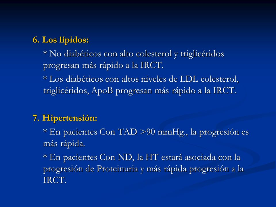 Mecanismos de progresión de IRC: Glomerulosclerosis: Glomerulosclerosis: Fase de lesión endotelial.