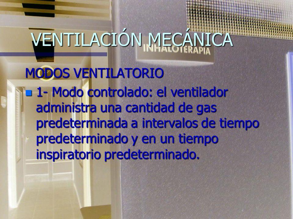 VENTILACIÓN MECÁNICA TIPO DE VENTILADOR: n - Ventilador de presión n - Ventilador de volumen n - Ventilador ciclado por flujo n La mayoría de los vent