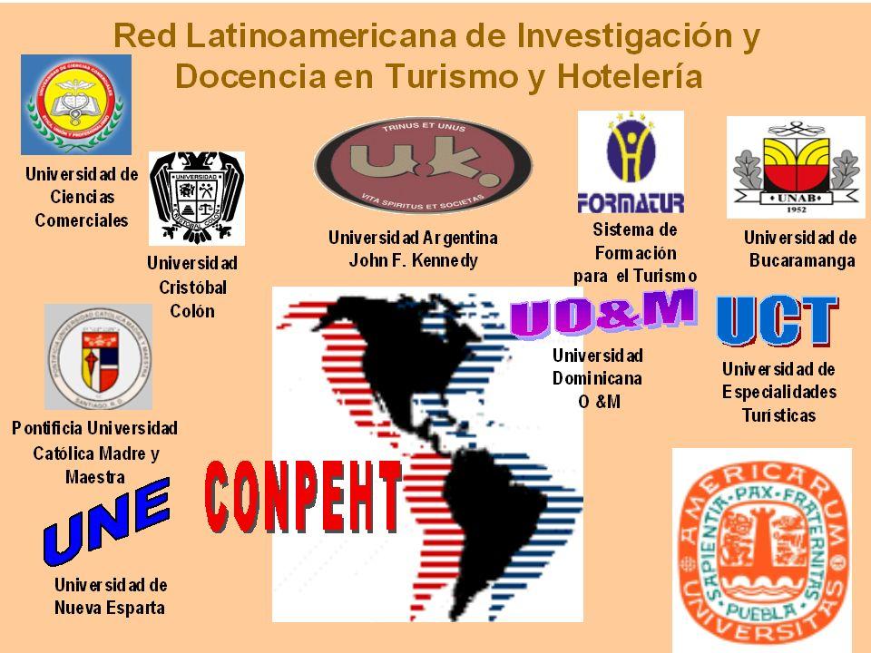 RED Latinoamericana de Investigación y Docencia en Turismo y Hotelería Integran la RED diez universidades, todas ellas miembros activos de CONPEHT.