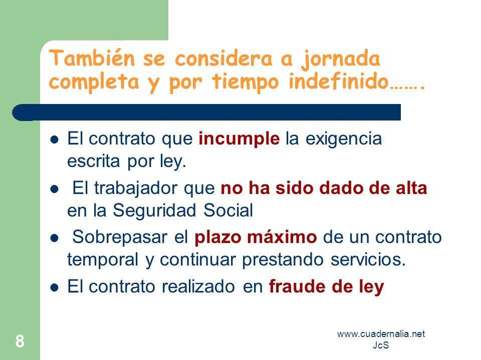 www.cuadernalia.net JcS 9 Elementos Esenciales del Contrato Consentimiento.