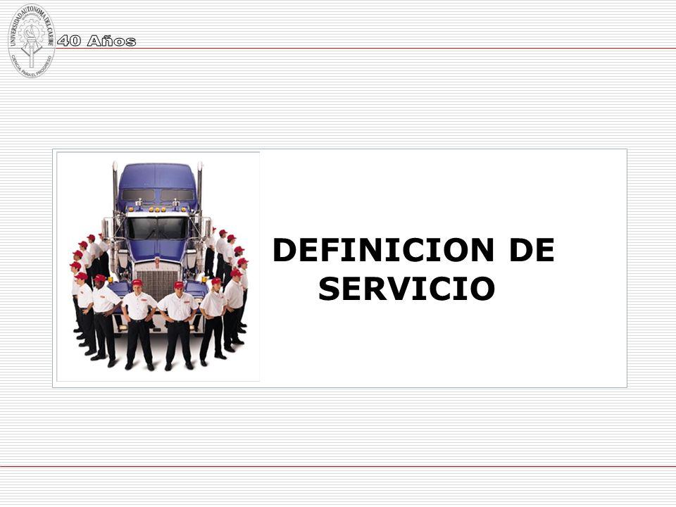 DEFINICION DE SERVICIO