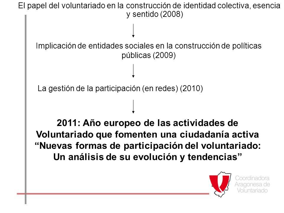 TENDENCIAS 1.Voluntariado virtual y participación a través de nuevas tecnologías: ¿Son nuevas.