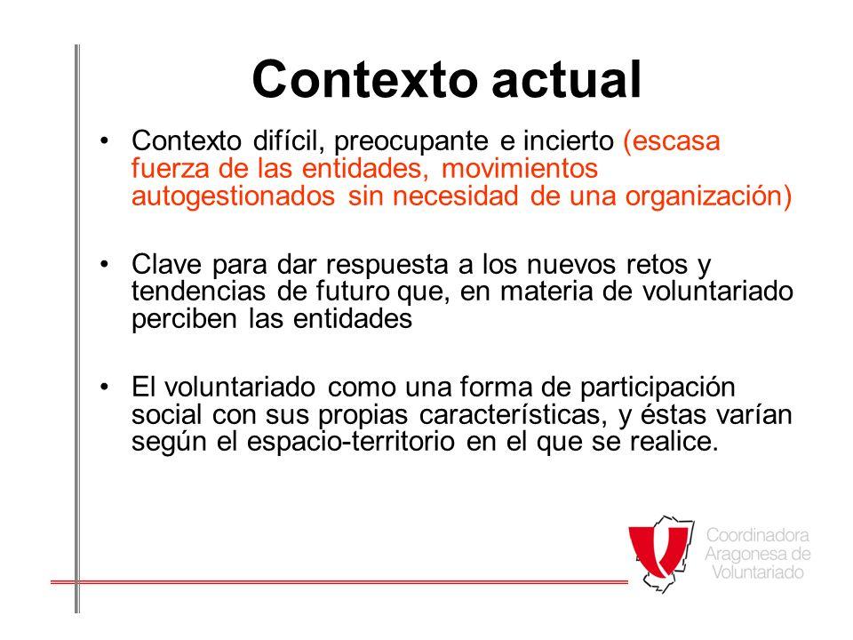 Impacto Las entidades nos dicen; - Que la opinión de los voluntarios cuenta mucho de cara a las posibles mejoras de la institución.