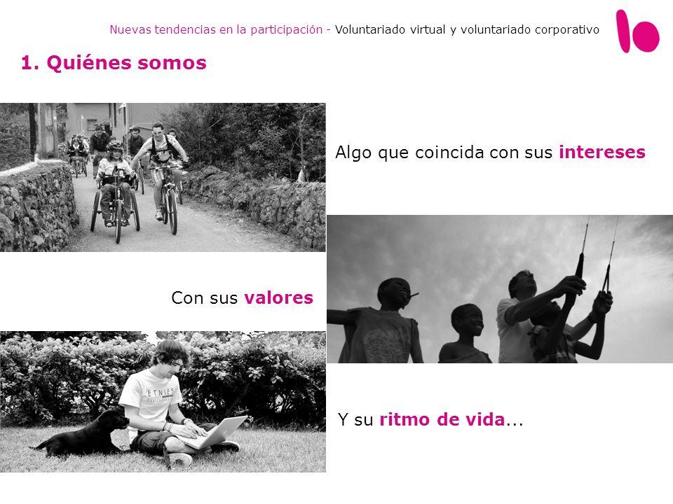 Nuevas tendencias en la participación - Voluntariado virtual y voluntariado corporativo 4.