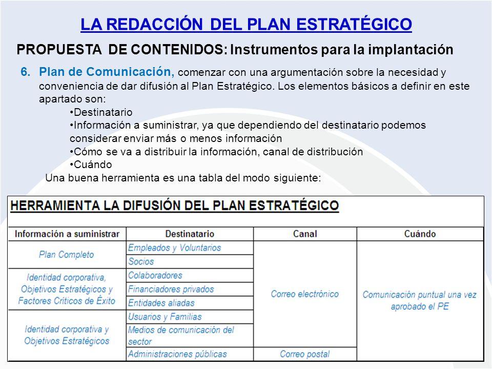 Proyecto PLANES ESTRATÉGICOS REDES ARAGÓN 2009-2010 PROPUESTA DE CONTENIDOS: Instrumentos para la implantación 6.Plan de Comunicación, comenzar con un