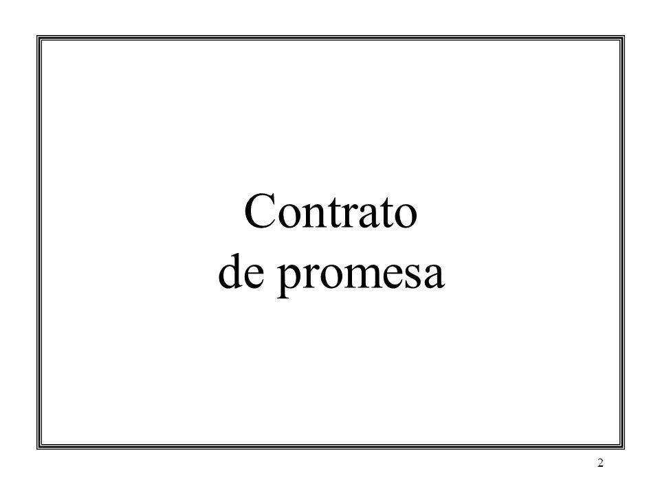 3 Contrato de promesa Características Promesa Concepto.