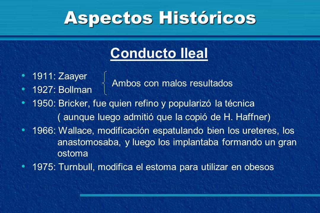 Aspectos Históricos 1911: Zaayer 1927: Bollman 1950: Bricker, fue quien refino y popularizó la técnica ( aunque luego admitió que la copió de H. Haffn