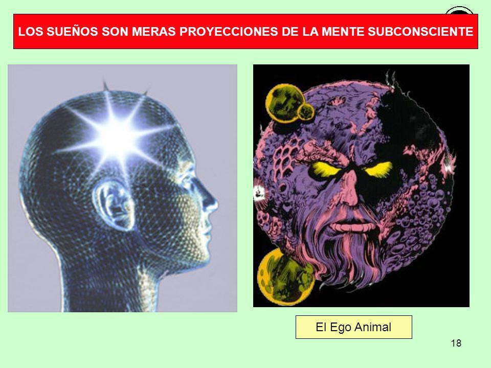 18 El Ego Animal LOS SUEÑOS SON MERAS PROYECCIONES DE LA MENTE SUBCONSCIENTE