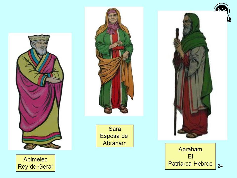 24 Abimelec Rey de Gerar Sara Esposa de Abraham El Patriarca Hebreo
