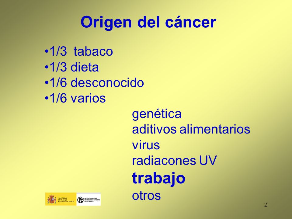53 Los riesgos potenciales para la salud (+ tabaco) Las precauciones para prevenir la exposición Las disposiciones en materia de higiene personal Art.
