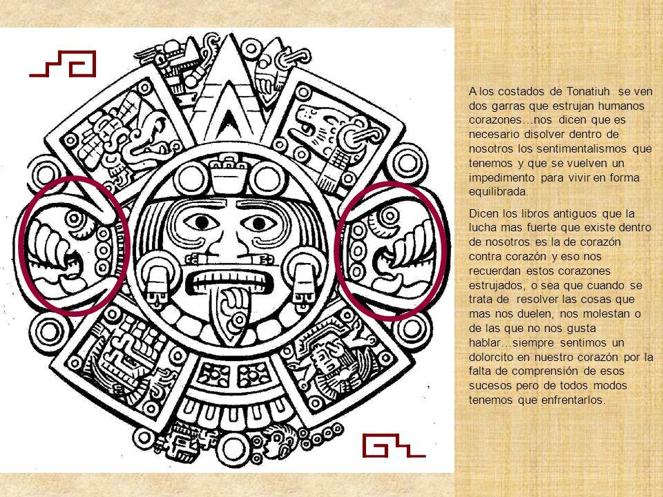 Cuando se visita el museo de Antropología e Historia en la Ciudad de México y se observa la Piedra solar impresiona en este grabado la lengua de peder