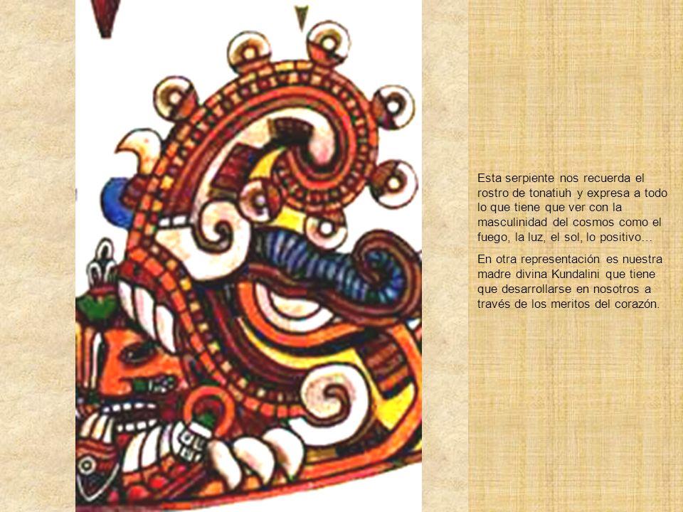 Xiucoatl Serpiente de Fuego Dos Xiucoatl o serpientes de fuego encierran a la piedra solar indicando que el secreto del sol esta en el fuego sabiament