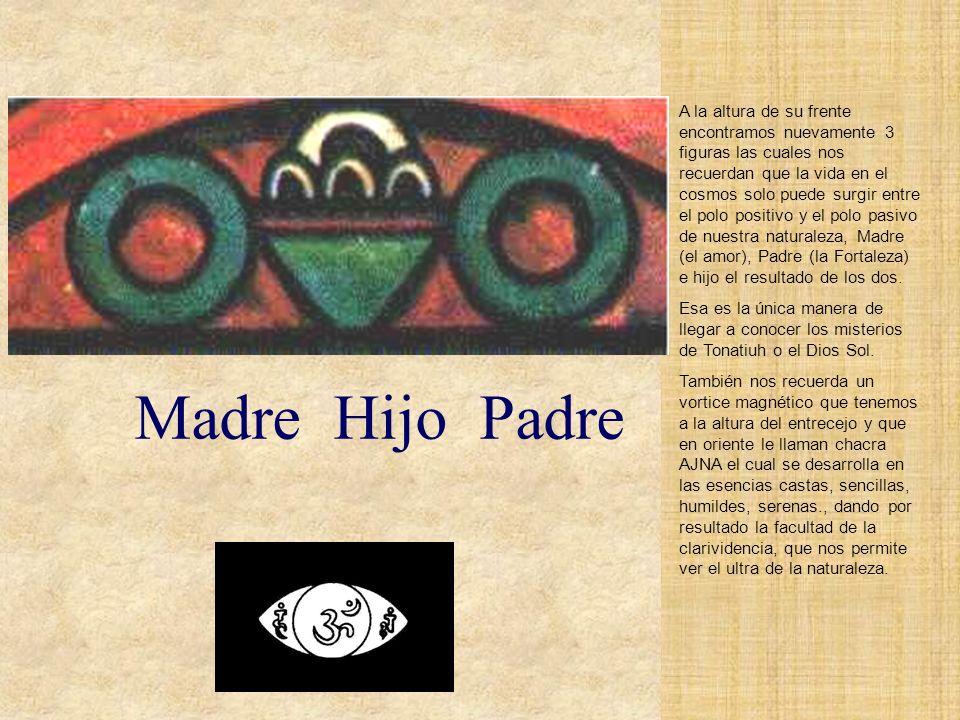 La cara de Tonatiuh en el calendario azteca es la cara de Ometecuhtli- Omecihuatl, Señor y Señora de la dualidad, Dios de la vida, del amor y de la ge