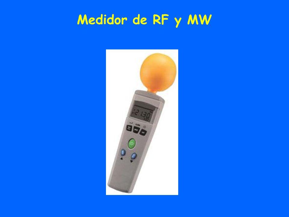 Medidor de RF y MW