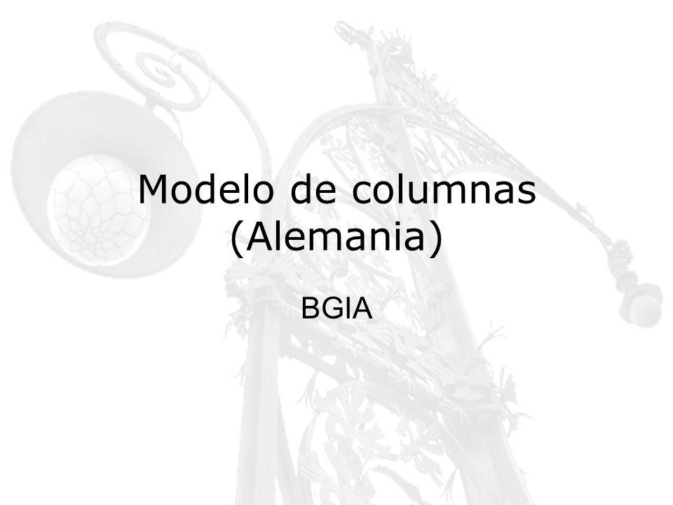 Modelo de columnas (Alemania) BGIA