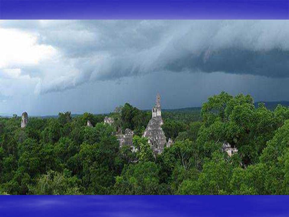 Templo I Del Jaguar crestería