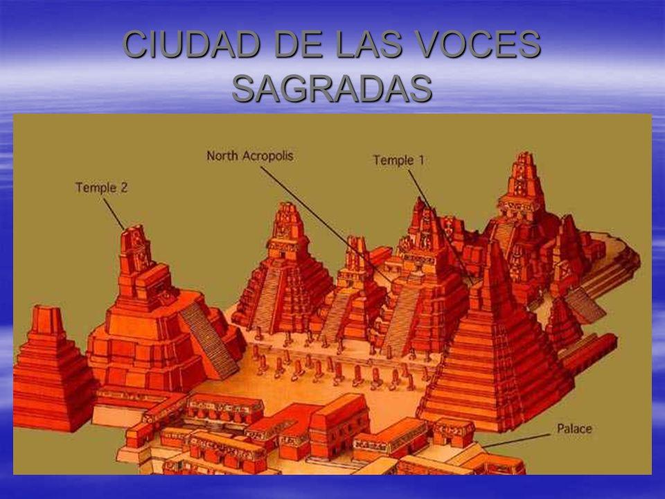 CIUDAD DE LAS VOCES SAGRADAS