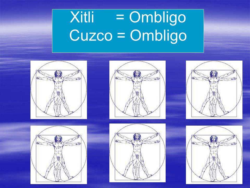 Xitli = Ombligo Cuzco = Ombligo