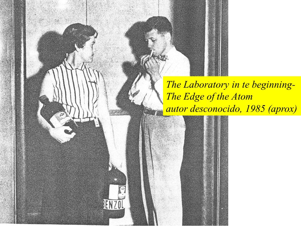 The Laboratory in te beginning- The Edge of the Atom autor desconocido, 1985 (aprox)