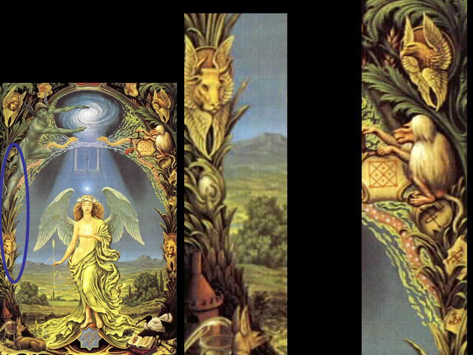Virgo En este precioso cuadro hallamos a la Divina Madre en sus aspectos fundamentales, expresando principalmente toda la fertilidad de la naturaleza.