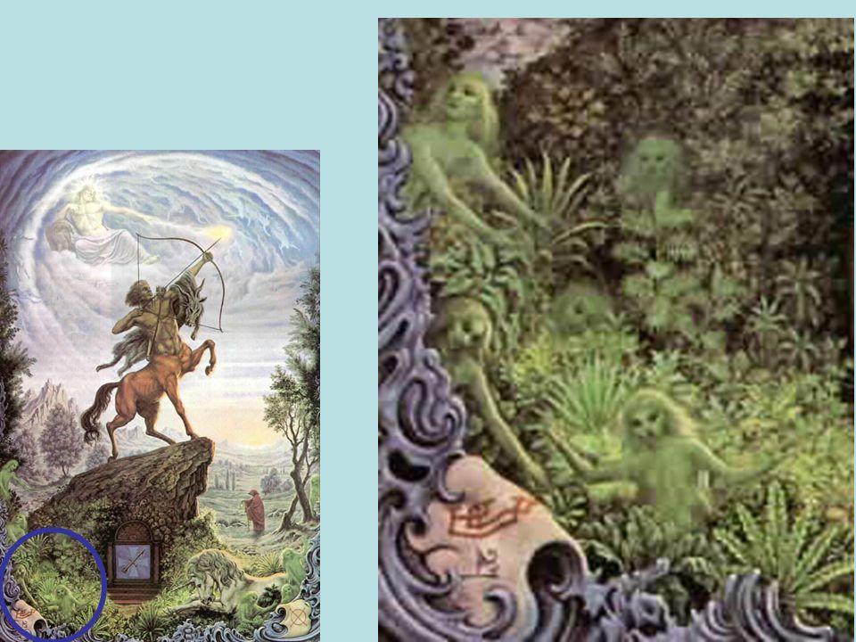 Sagitario El verdadero ocultismo relacionado con la alquimia, cábala y magia práctica y los aspectos antitéticos o inferiores, como el centauro mitad
