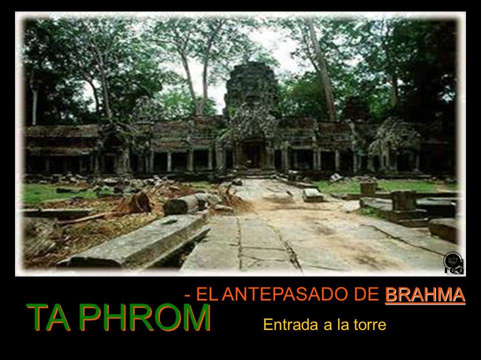TA PHROM BRAHMA - EL ANTEPASADO DE BRAHMA Entrada a la torre