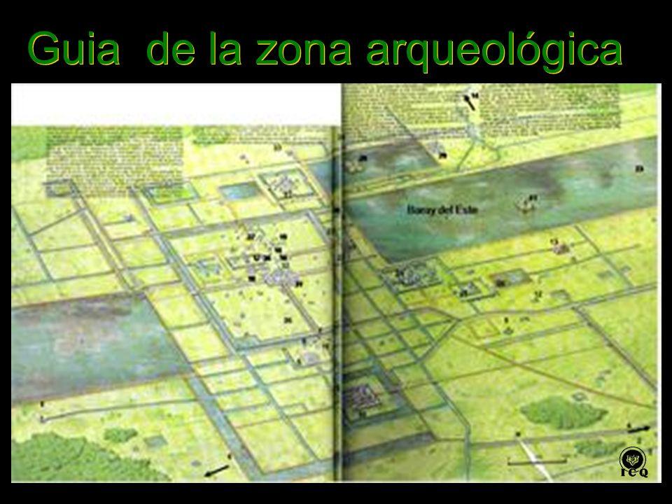 Guia de la zona arqueológica