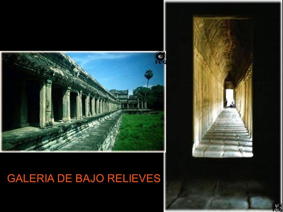 GALERIA DE BAJO RELIEVES