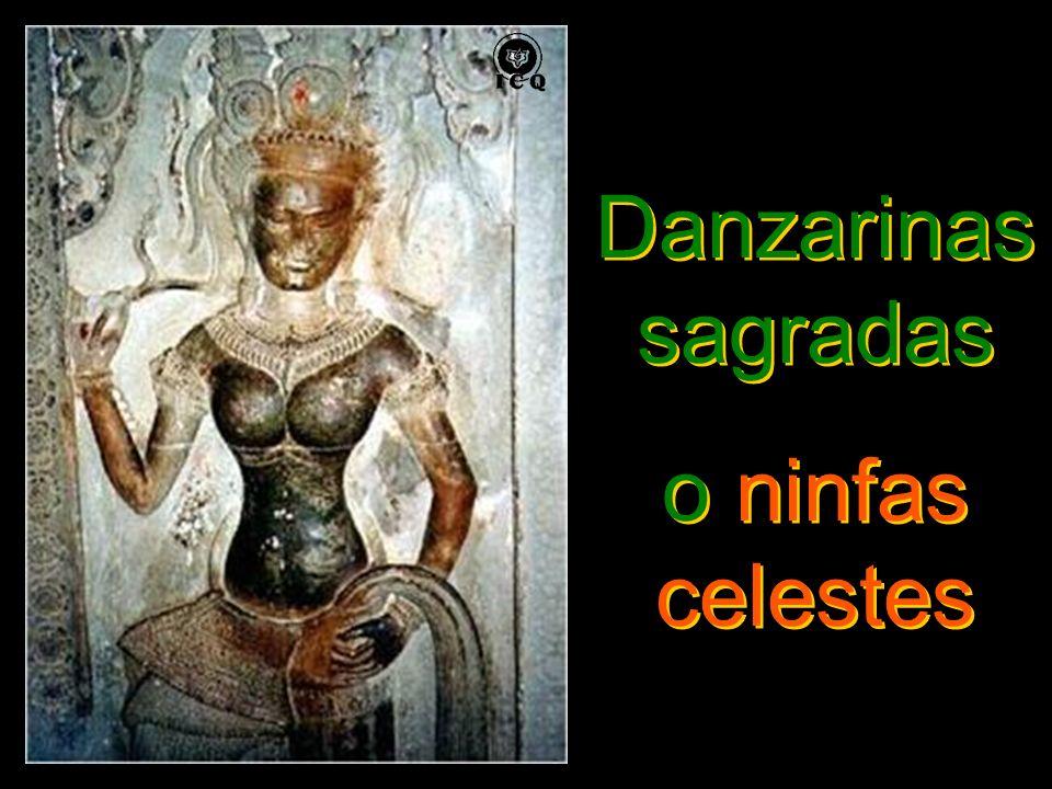 Danzarinas sagradas o ninfas celestes Danzarinas sagradas o ninfas celestes