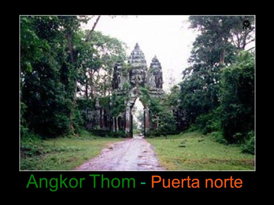 Angkor Thom - Puerta norte